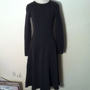 J. Crew Long Sleeve Midi Dress
